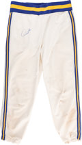 Baseball Collectibles:Others, 1977 Paul Molitor Game Worn Milwaukee Brewers Pants - Minor Leagues. . ...