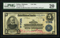 National Bank Notes, Selma, AL - $5 1902 Date Back Fr. 590 The Selma NB Ch. # (S)7084. ...