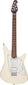 Musical Instruments:Electric Guitars, Circa 2010 Ernie Ball Albert Lee Music Man White Solid BodyElectric Guitar, Serial # G49801....