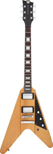 Musical Instruments:Electric Guitars, 2009 Reverend Volcano Natural Solid Body Electric Guitar, Serial #10629....
