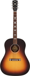 Musical Instruments:Acoustic Guitars, 1997 Gibson J-35 Sunburst Acoustic Guitar, Serial # 91047037....
