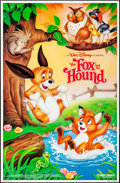 """Movie Posters:Animation, The Fox and the Hound & Other Lot (Buena Vista, R-1988). OneSheet (27"""" X 41"""") SS, & TV Poster (26"""" X 40"""") SS. Animation..... (Total: 2 Items)"""