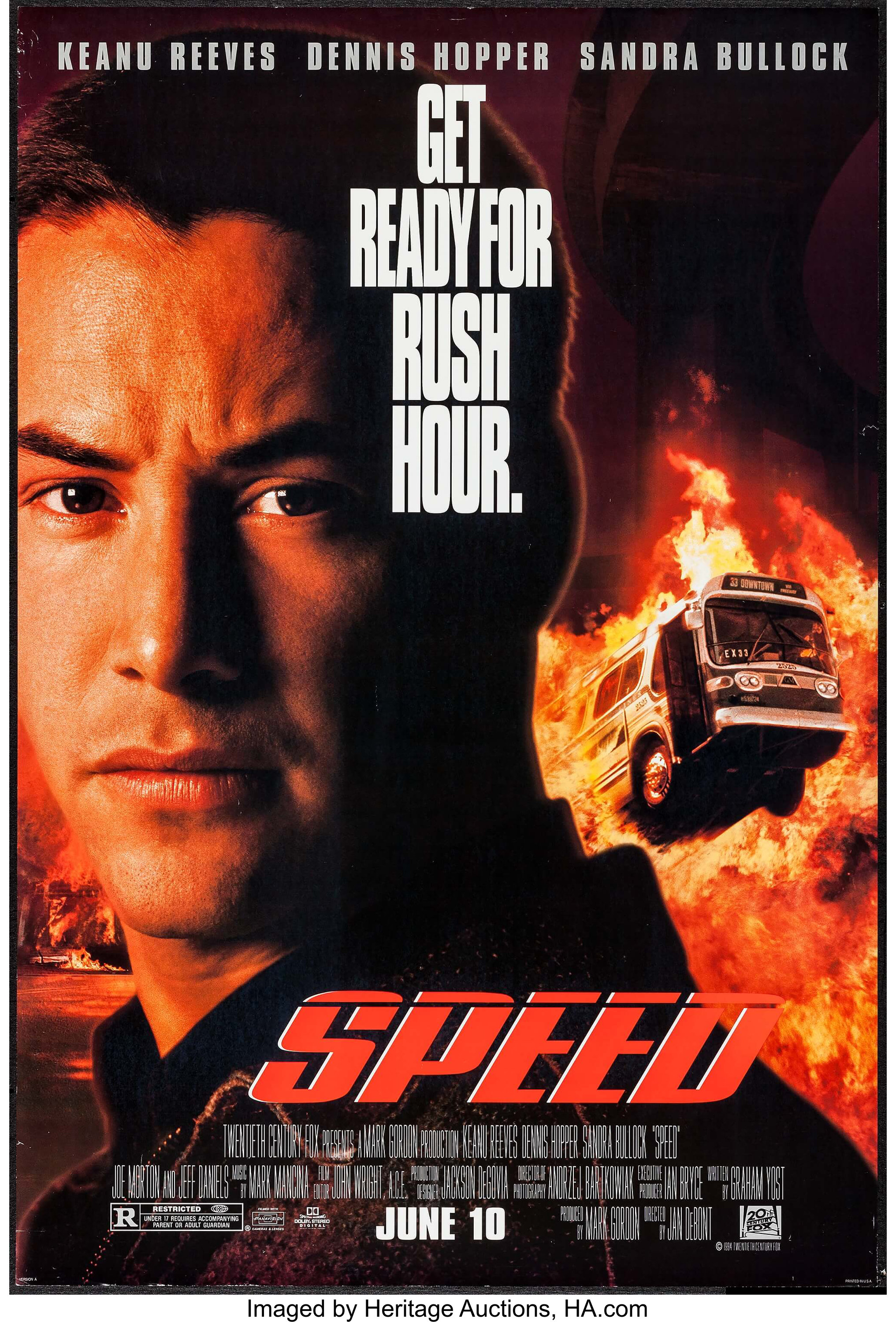 Speed & Other Lot (20th Century Fox, 1994)  One Sheets (2) (27
