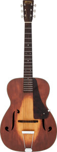 Musical Instruments:Acoustic Guitars, 1934 Martin R-18 Sunburst Archtop Acoustic Guitar, Serial # 57602....