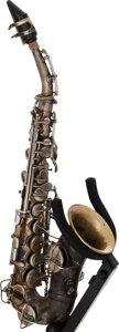 Musical Instruments:Horns & Wind Instruments, Circa 1940's C.G. Conn Natural Soprano Saxophone, Serial # 30792....