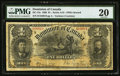 Canadian Currency, Canada DC-13a $1 1898.. ...