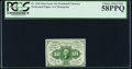 Fractional Currency:First Issue, Fr. 1241 10¢ First Issue PCGS Choice About New 58PPQ.. ...