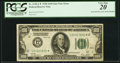 Error Notes:Inverted Third Printings, Fr. 2150-L* $100 1928 Federal Reserve Note. PCGS Very Fine 20.. ...