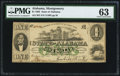 Obsoletes By State:Alabama, Montgomery, AL- State of Alabama $1 Jan. 1, 1863 Cr. 2. ...