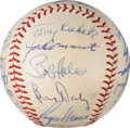 Autographs:Baseballs, 1961 New York Yankees Team Signed Baseball.. ...