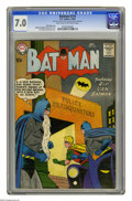 Silver Age (1956-1969):Superhero, Batman #119 (DC, 1958) CGC FN/VF 7.0 Light tan to off-white pages. Curt Swan and Stan Kaye cover. Sheldon Moldoff and Charle...