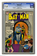 Silver Age (1956-1969):Superhero, Batman #122 (DC, 1959) CGC FN/VF 7.0 Cream to off-white pages. Batwoman cover and story. Curt Swan cover. Bob Kane and Sheld...