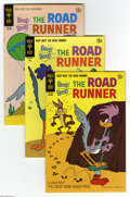 Bronze Age (1970-1979):Cartoon Character, Beep Beep the Road Runner Box Lot (Gold Key, 1969-73) Condition:Average VF. Full short box lot includes #10 (24 copies), 11...