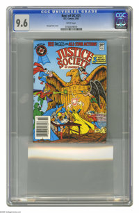 The Best of DC #21 (DC, 1982) CGC NM+ 9.6 White pages. Featuring the Justice Society of America. George Perez cover. Thi...