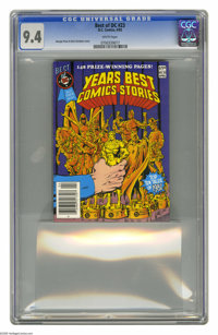 The Best of DC #23 (DC, 1982) CGC NM 9.4 White pages. Features the best comic stories from 1981. George Perez and Dick G...