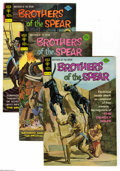 Bronze Age (1970-1979):Miscellaneous, Brothers of the Spear #9-14 Box Lot (Gold Key, 1974-75) Condition:Average VF. Full short box lot includes #9 (14 copies), 1...