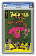 Bronze Age (1970-1979):Cartoon Character, Bullwinkle #23 File Copy (Gold Key, 1979) CGC NM 9.4 White pages.Overstreet 2005 NM- 9.2 value = $18. CGC census 7/05: 7 in...