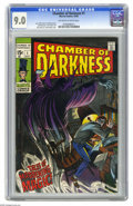 Silver Age (1956-1969):Horror, Chamber of Darkness #1 (Marvel, 1969) CGC VF/NM 9.0 Off-white towhite pages. John Romita Sr. cover. John Buscema, Tom Sutto...