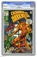 Bronze Age (1970-1979):Horror, Chamber of Darkness #7 (Marvel, 1970) CGC NM+ 9.6 White pages.Bernie Wrightson's first work at Marvel, cover and art. Story...