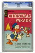 Silver Age (1956-1969):Humor, Christmas Parade #4 File Copy (Gold Key, 1966) CGC NM- 9.2 Off-white pages. Reprints Four Color #203 by Carl Barks. Over...