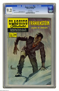 Golden Age (1938-1955):Classics Illustrated, Classics Illustrated #26 Frankenstein HRN 169 (Gilberton, 1969) CGCNM- 9.2 White pages. Cover by Norm Saunders. Art by Robe...