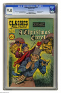 Golden Age (1938-1955):Classics Illustrated, Classics Illustrated #53 A Christmas Carol - First Edition(Gilberton, 1948) CGC VF/NM 9.0 Off-white pages. First and onlye...