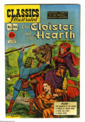 Golden Age (1938-1955):Classics Illustrated, Classics Illustrated #66 The Cloister and the Hearth -- OriginalEdition (Gilberton, 1949) Condition: FN-. Original and only...