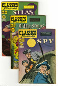 "Golden Age (1938-1955):Classics Illustrated, Classics Illustrated Original Editions Group (Gilberton, 1948-51).Nine-issue group lot includes #51 (""The Spy""; #1D, Overst... (9Comic Books)"