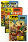 "Golden Age (1938-1955):Classics Illustrated, Classics Illustrated Original Editions Group (Gilberton, 1950-61)Condition: Average FN-. Eight-issue group includes #68 (""J... (8Comic Books)"