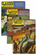 "Silver Age (1956-1969):Classics Illustrated, Classics Illustrated Group (Gilberton, 1949-68) Condition: AverageFN-. Fourteen-issue group lot includes #11 (""Don Quixote,... (14Comic Books)"
