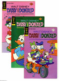 Bronze Age (1970-1979):Cartoon Character, Daisy and Donald Box Lot (Gold Key, 1973-) Condition: Average VF.Full short box lot includes #1 (four copies), 2 (two copie...