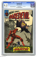 Silver Age (1956-1969):Superhero, Daredevil #20 (Marvel, 1966) CGC NM- 9.2 Off-white to white pages. Owl appearance. John Romita Sr. cover. Gene Colan and Fra...