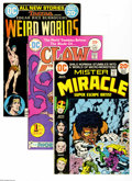 Bronze Age (1970-1979):Miscellaneous, DC Bronze Age Group (DC, 1968-75) Condition: Average VF+. This fullshort box contains approximately 120 comics. Included ar...