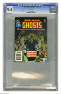 Modern Age (1980-Present):Horror, DC Special Blue Ribbon Digest #6 (DC, 1981) CGC NM 9.4 White pages.Featuring Ghosts. Nick Cardy cover. This is currently th...
