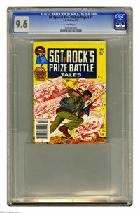 DC Special Blue Ribbon Digest #7 (DC, 1981) CGC NM+ 9.6 White pages. Featuring Sgt. Rock's Prize Battle Tales. Joe Kuber...