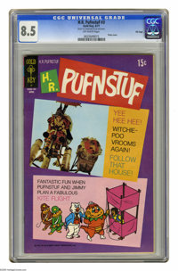 H.R. Pufnstuf #3 File Copy (Gold Key, 1971) CGC VF+ 8.5 Off-white pages. Photo cover. Overstreet 2005 VF 8.0 value = $79...