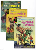 Bronze Age (1970-1979):Miscellaneous, The Jungle Twins Group (Gold Key/Whitman, 1972-75) Condition:Average VF. Full short box lot includes #5 (23 copies), 6 (23 ...