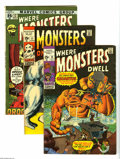 Bronze Age (1970-1979):Horror, Marvel Bronze Age Horror Group (Marvel, 1970-78) Condition: AverageVG+. Large, 28-issue group lot includes Monsters on th... (28 ComicBooks)