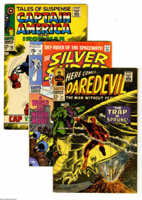 Marvel Silver Age Group (Marvel, 1965-69) Condition: Average VG-. This full short box contains approximately 120 comics...