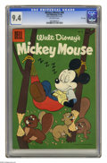 Golden Age (1938-1955):Funny Animal, Mickey Mouse #48 File Copy (Dell, 1956) CGC NM 9.4 Off-white pages.Overstreet 2005 NM- 9.2 value = $55. CGC census 8/05: 1 ...