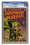 Golden Age (1938-1955):Science Fiction, Mystery in Space #2 (DC, 1951) CGC VG- 3.5 Cream to off-whitepages. Carmine Infantino cover. Infantino, Murphy Anderson, Jo...