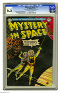 Golden Age (1938-1955):Science Fiction, Mystery in Space #16 (DC, 1953) CGC FN+ 6.5 Cream to off-whitepages. Murphy Anderson cover. Anderson, Carmine Infantino, Gi...