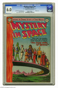 Golden Age (1938-1955):Science Fiction, Mystery in Space #17 (DC, 1954) CGC FN 6.0 Cream to off-whitepages. Murphy Anderson cover. Anderson and Carmine Infantino a...