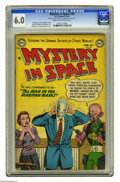 Golden Age (1938-1955):Science Fiction, Mystery in Space #20 (DC, 1954) CGC FN 6.0 Cream to off-whitepages. Murphy Anderson cover. Carmine Infantino, Mort Drucker,...