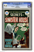 Bronze Age (1970-1979):Horror, Secrets of Sinister House #17 (DC, 1974) CGC NM+ 9.6 White pages.Ramona Fradon art. Overstreet 2005 NM- 9.2 value = $18. CG...