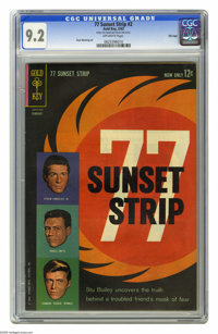 77 Sunset Strip #2 File Copy (Gold Key, 1963) CGC NM- 9.2 Off-white pages. Russ Manning art. Overstreet 2005 NM- 9.2 val...