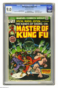 Bronze Age (1970-1979):Superhero, Special Marvel Edition #15 (Marvel, 1973) CGC VF/NM 9.0 Off-white to white pages. First appearance of Shang-Chi, Master of K...