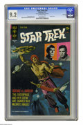 Bronze Age (1970-1979):Science Fiction, Star Trek #10 File Copy (Gold Key, 1971) CGC NM- 9.2 Off-white pages. Painted cover by George Wilson. Alberto Giolitti and G...