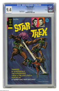 Star Trek #22 File Copy (Gold Key, 1974) CGC NM 9.4 Off-white pages. George Wilson painted cover. Alberto Giolitti art...