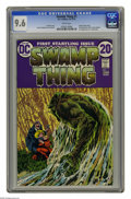 Bronze Age (1970-1979):Horror, Swamp Thing #1 (DC, 1972) CGC NM+ 9.6 White pages. Bernie Wrightsoncover and art. First telling of revised origin. Overstre...